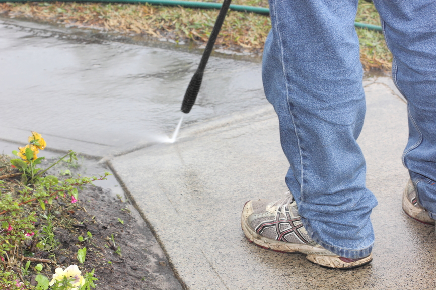 Cleaning Concrete Stains