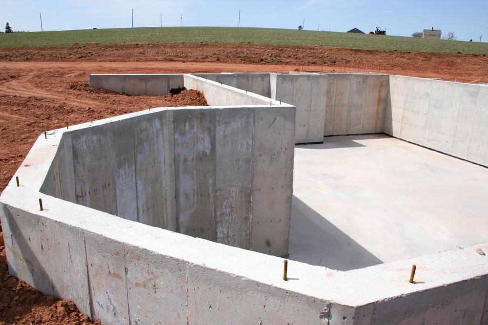 Basement Concrete Damage
