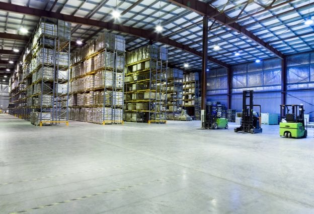 Repair Commercial Concrete in a Warehouse Right Away