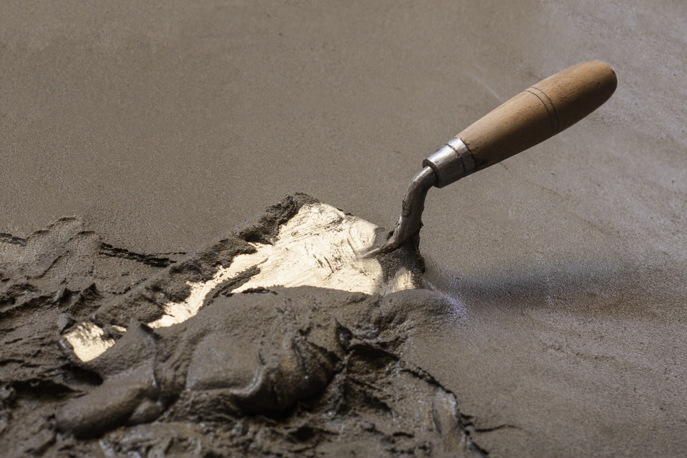 risks ignoring concrete settling