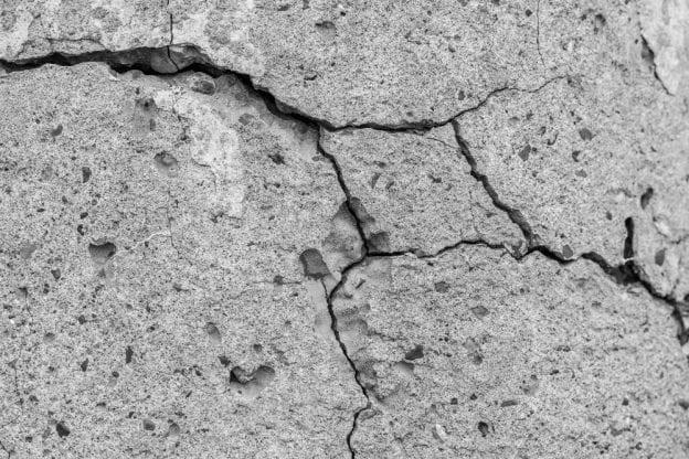 soil conditions concrete settlement