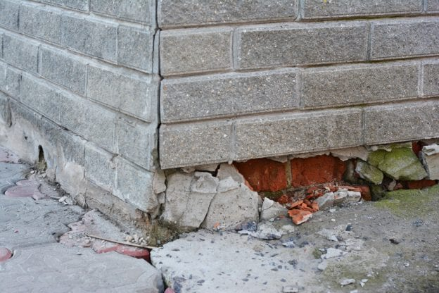 foundation repair early steps