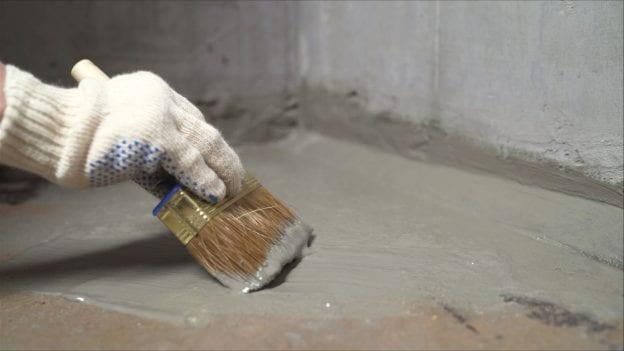 concrete water prevention waterproofing