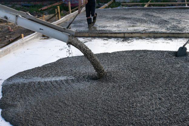 concrete composition mix cement